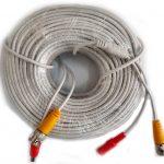 Cable Blanco Vídeo Y Alimentación Eléctrica VAC5050