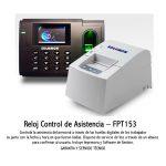 Reloj - Control de Asistencia FPT153